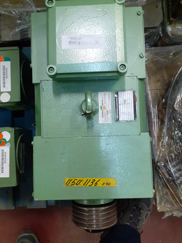 Motor Reliance Electric 1.1 KW 3000 RPM